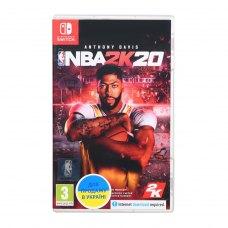 Гра NBA 2K20 для Nintendo Switch