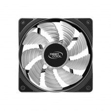 Вентилятор для корпуса Deepcool RF120FS, 120х120х25мм, 3 кольора (фіолетовий/блакитний/помаранчовий) LED