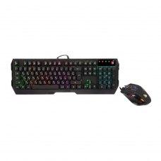 Комплект дротовий ігровий, A4Tech Q1300 Bloody (Black), Q130+Q50H, USB