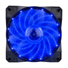 Вентилятор 1stPlayer A1-15LED Blue bulk; 120х120х25мм, 4-pin