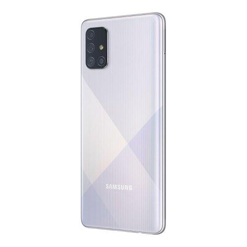 Смартфон Samsung Galaxy A71 (A715F) Metallic Silver