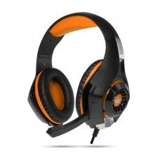 Гарнітура дротова ігрова, Crown CMGH-101T Orange