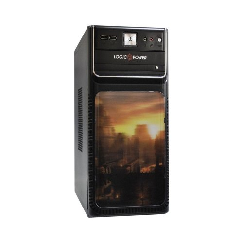 Корпус LogicPower (4419-450) 450Вт, ATX, MicroATX
