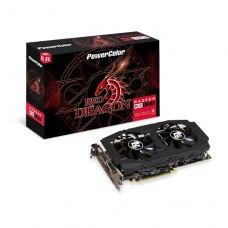 Відеокарта AMD Radeon RX 580 8GB GDDR5 Red Dragon PowerColor (AXRX 580 8GBD5-3DHDV2/OC)