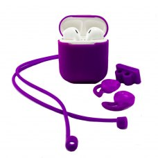 Case XO for Apple AirPods 1/2 4in1 (Purple)