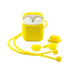 Case XO for Apple AirPods 1/2 4in1 (Yellow)