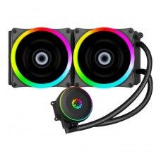 Кулер для процессора GameMax Iceberg240-Rainbow (система рідинного охолодження)