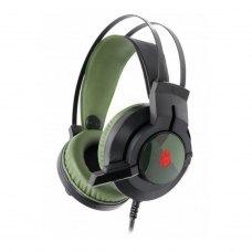 Гарнітура дротова ігрова, A4Tech J437 Bloody (Army Green)