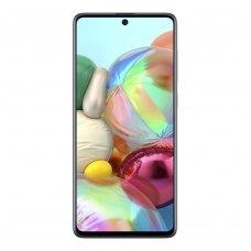 (УЦІНКА)Смартфон Samsung Galaxy A71 (A715F) Silver ** вітринний, дефект на рамці, потертості