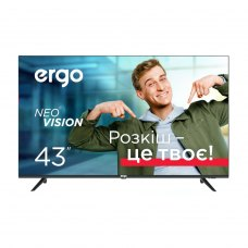 Телевізор Ergo 43DUS6000, 43 4K, Android 9