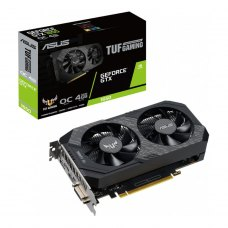 Відеокарта ASUS GeForce GTX1650 4096Mb TUF OC D6 P GAMING (TUF-GTX1650-O4GD6-P-GAMING)