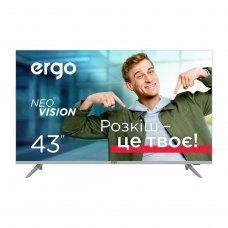 Телевізор Ergo 43DUS7000, 43 4K, Android 9