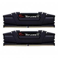 DDR4 2х32GB/2666 G.Skill Ripjaws V Black (F4-2666C18D-64GVK)