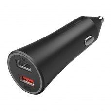 АЗП Xiaomi Mi Car Fast Charger 37W QC 3.0 Dual USB (GDS4147GL) Black