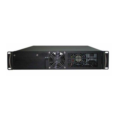 Корпус, без БЖ, Конструктив 2U-UNI Black (CSV 2U-UNI), 2U, FullATX, чорний, fun 2x80мм, серверний