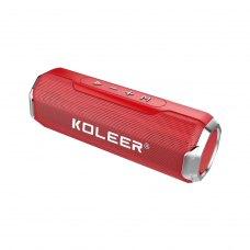 Портативна колонка Bluetooth KOLEER S218, Red