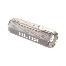 Портативна колонка Bluetooth KOLEER S218, Gold