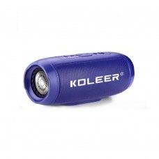 Портативна колонка Bluetooth KOLEER S1000, Blue