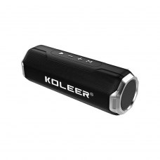 Портативна колонка Bluetooth KOLEER S218, Black