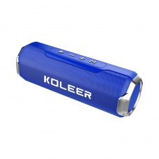 Портативна колонка Bluetooth KOLEER S218, Dark Blue