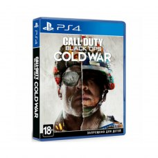 Гра PS4 Call of Duty: Black Ops Cold War [Blu-Ray диск]