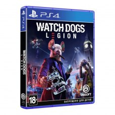 Гра для PS4 Watch Dogs Legion [Blu-Ray диск]
