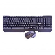 Комплект бездротовий (клавіатура+мишка), HAVIT HV-KB279GCM, wireless USB, black (25900)
