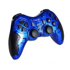 Геймпад HAVIT HV-G89W USB+PS2+PS3 wireless, blue (23126)