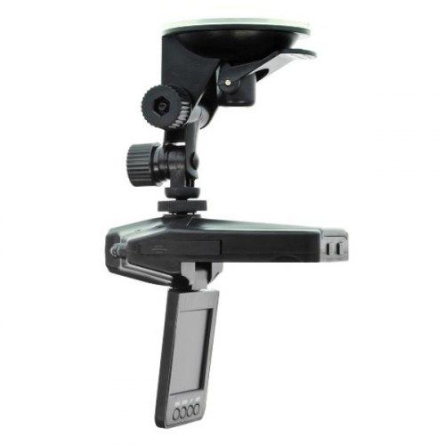 Відеореєстратор Globex HQS-205B 0.3 Mpx, 140°, 2.5 LCD, SD до 64Gb, запис звуку, підкурювач + акумулятор