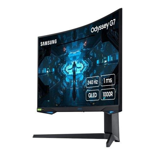 Монітор, Samsung Odyssey G7 LC27G75TQSI (LC27G75TQSIXCI), 26.9, VA, 2560x1440, 240Гц
