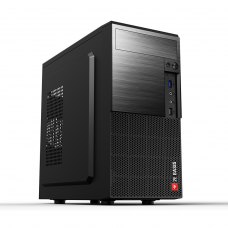 Корпус 2E BASIS (RD860) MiniT, Micro ATX,Mini ITX,2*USB3.0, сталь перфорацією(бок.панель),без БЖ,чорний