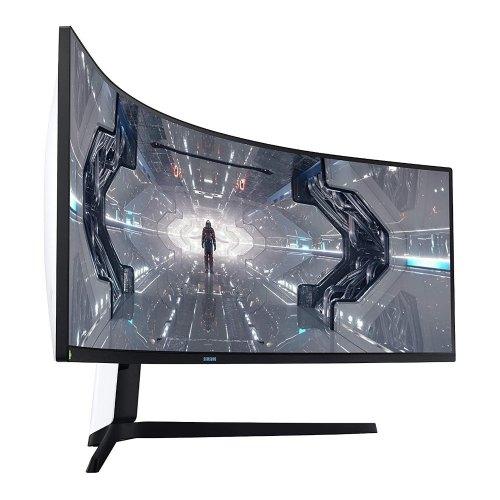 Монітор, Samsung Odyssey G9 LC49G95TSSIXCI Black (LC49G95TSSIXCI), 48.9, VA, 5120x1440, 240Гц