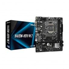 Материнська плата ASRock Intel s1200 H410 2DDR4 1PCIex16 1M.2 VGA/DVI/HDMI H410M-HDV/M.2