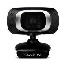 Вебкамера Canyon CNE-CWC3N відео до 1080x720, вбудований мікрофон