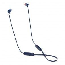 Навушники з мікрофоном (гарнітура), JBL T115BT, Blue (JBLT115BTBLU)