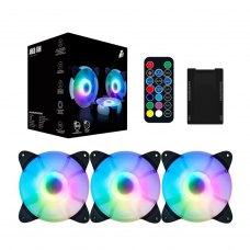 Вентилятор корпусний 1stPlayer CC-Combo RGB 3 Fans