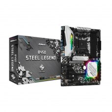 Материнська плата ASRock B450 Steel Legend Socket AM4 (B450 Steel Legend Socket)