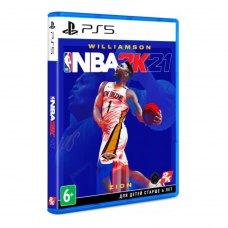 Гра для PS5 NBA 2K21 [Blu-Ray диск]