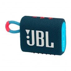 Акустична система JBL GO3 (JBLGO3BLUP), Blue and Pink