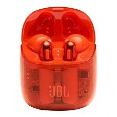 Навушники бездротові JBL T225 TWS Ghost Orange (JBLT225TWSGHOSTORG)