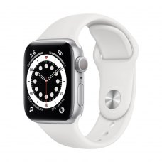 Смарт годинник Apple Watch s6 GPS 40 Silver Alum White