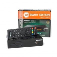 ТВ-Тюнер Romsat T8030HD, DVB-T/DVB-T2: +/+; DVB-C: +; вхід USB: 1х(2.0); композитний вихід: +; вихід HDMI: + (1.4)