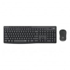 Комплектбездротовий(клавіатура+мишка),LogitechMK295(920-009807),USB-нано,Black