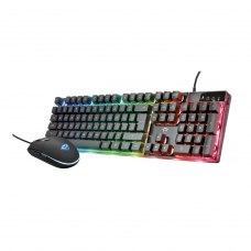 Комлпект клавіатура + миша Trust GXT 838 Azor BLACK (23722_TRUST)