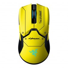 Мишка бездротова ігрова, Razer Viper Ultimate Wireless & Mouse Dock Cyberpunk Edition (RZ01-03050500-R3M1)