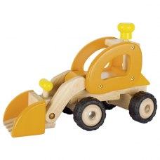 goki Машинка деревяна Екскаватор (жовтий)