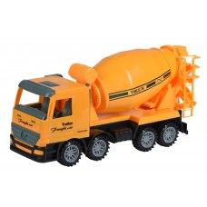 Same Toy Машинка інерційна Super Combination Бетоноpмішувач (жовтий)