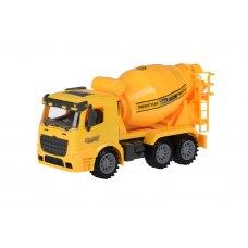 Same Toy Машинка інерційна Truck Бетонозмішувач (жовта)