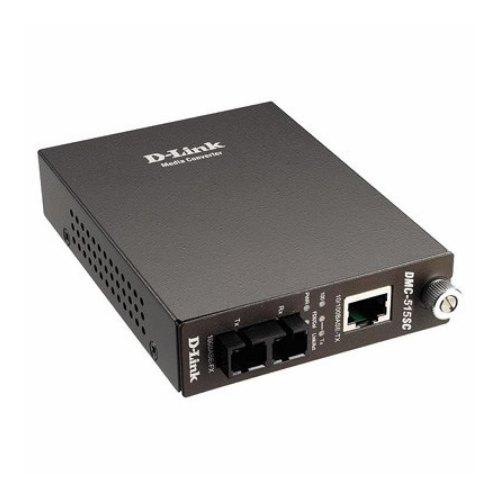 Медіаконвертор D-Link DMC-515SC