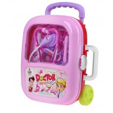 Same Toy Ігровий набір - Доктор (в валізі, рожевий)